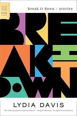 Break It Down By Davis, Lydia